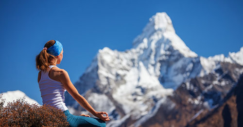 Enjoy fresh mountain air on Langtang Gosaikunda Yoga Trek trek Nepal 2019