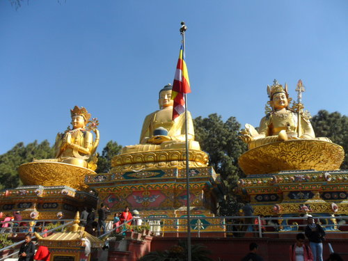 Buddhas at Kathmandu, you can see these and more on your trips